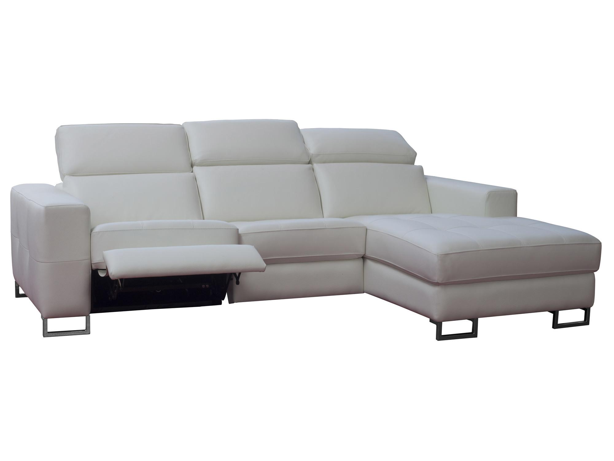 Canape d angle relax electrique cuir