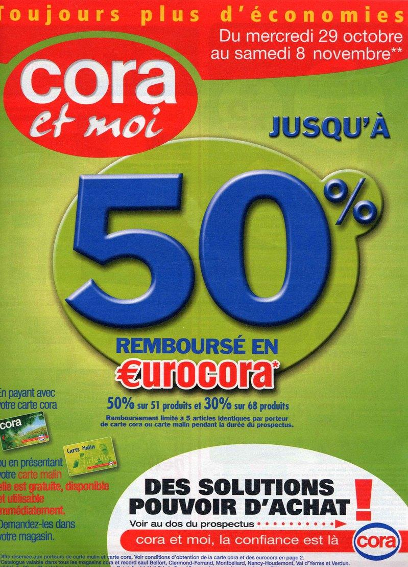 Carte Malin Cora Houdemont.Cora Promotions Firstcdiscount