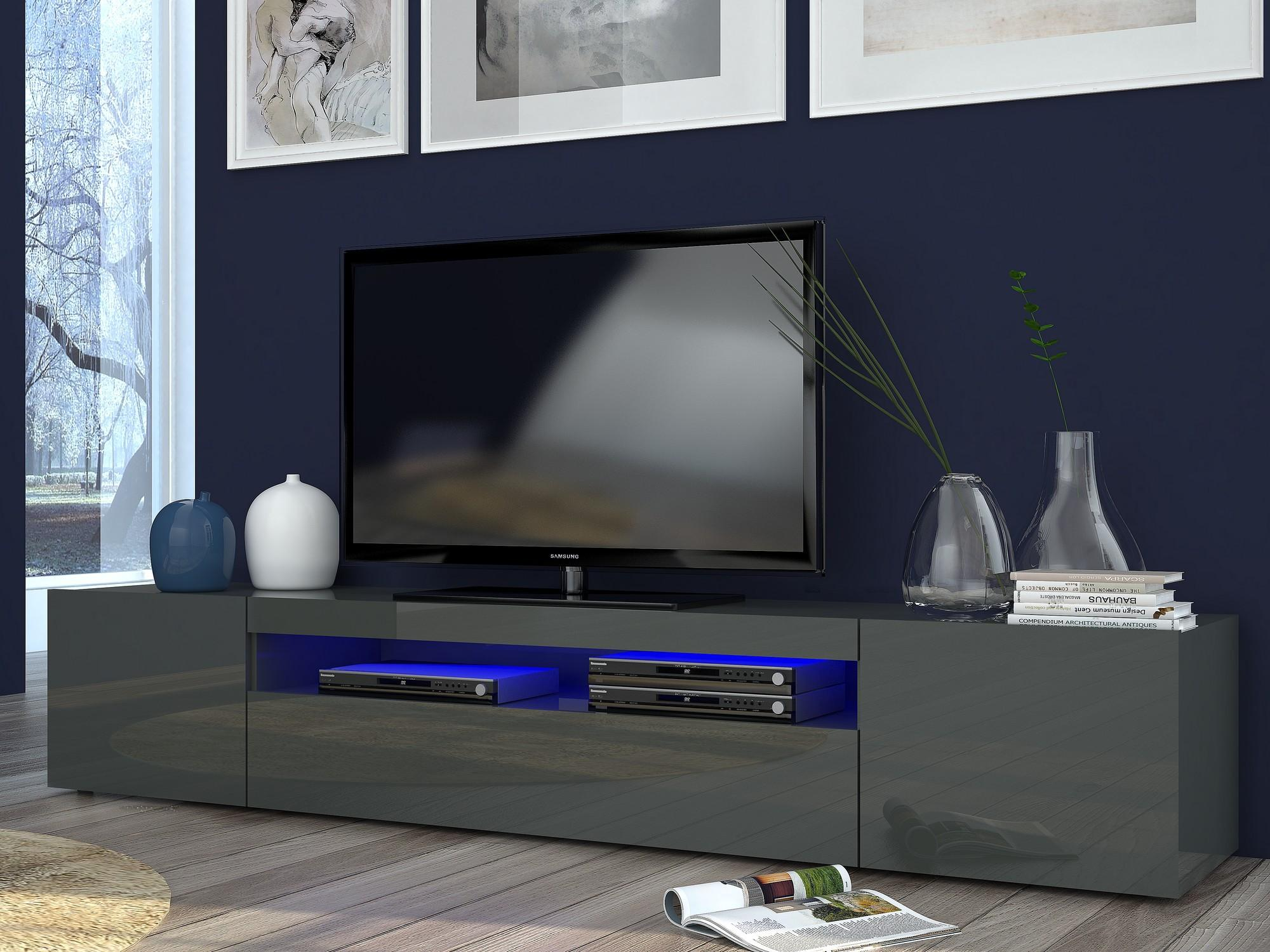 Meuble Tv Design Led Firstcdiscount # Punch Meuble Tv
