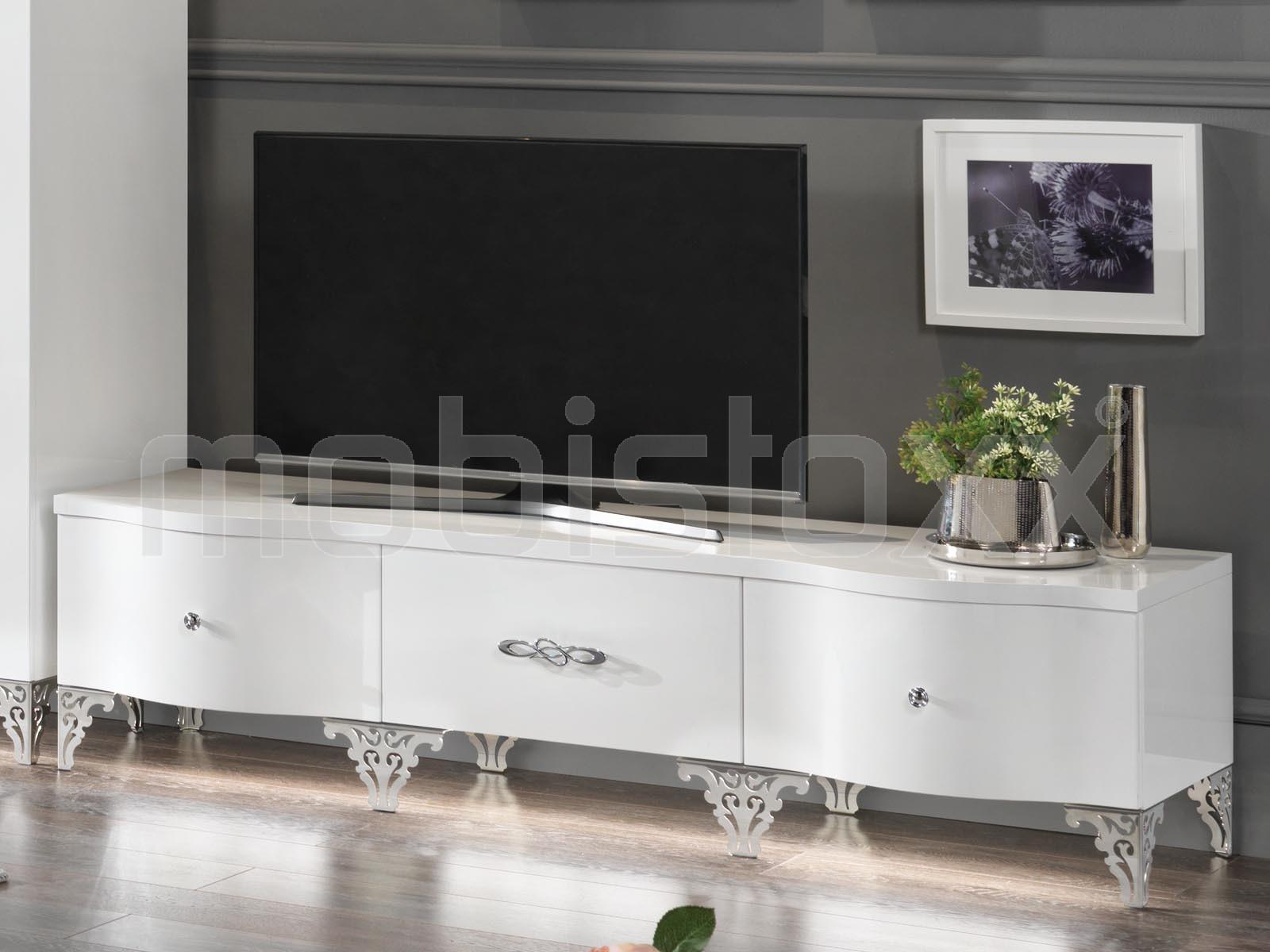 Mobistoxx Awesome Meuble Tvhifi Cosmos Portes Niches Chez  # Meuble Tv Zeus