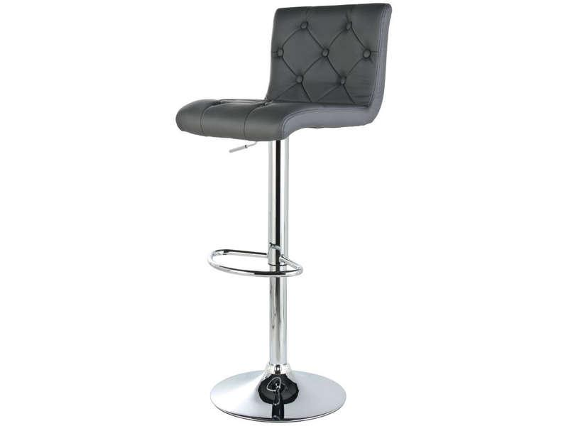 Tabouret De Bar Gris Conforama Firstcdiscount